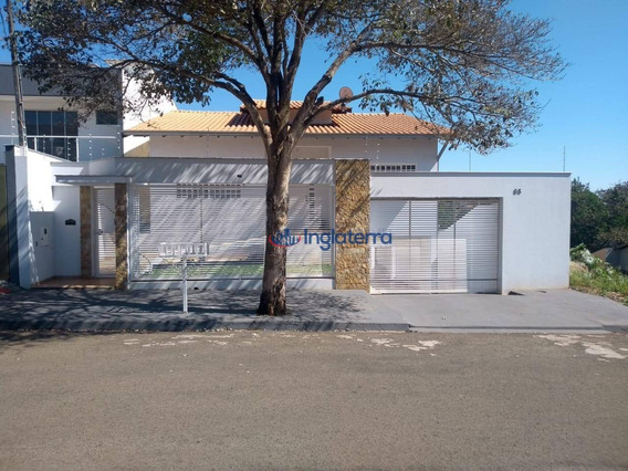 Casa Com 3 Dormitórios À Venda, 187 M² Por R$ 650.000,00 - Jardim Santos Paulo - Londrina/pr - Ca1001