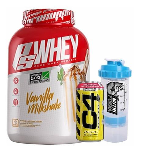 Proteina Whey Prosupps 5lb - Ps Whey Vanilla Milkshake