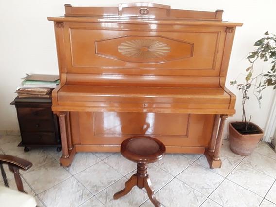 Piano Alemão Julius Feurich Leipizig Ano 1927