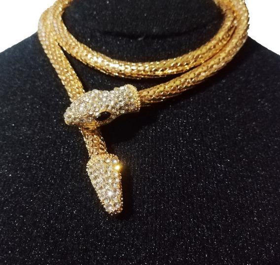 Hermoso Collar De Serpiente