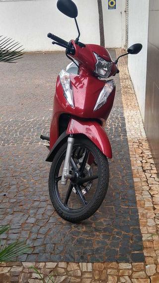 Honda Biz 125+ Vermelha