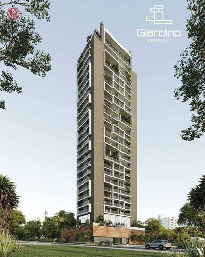 Imagem 1 de 2 de Apartamento Com 3 Dormitórios À Venda, 184 M² Por R$ 1.668.163 - Centro - Cascavel/pr - Ap0307