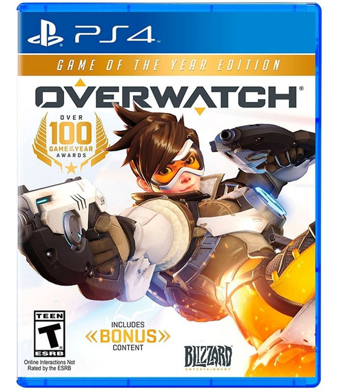 Jogo Mídia Física Overwatch Game Of The Year Edition Pra Ps4