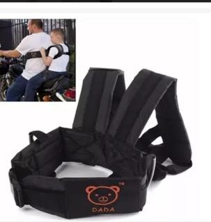Cinturón De Seguridad Para Niños Con Arnés Para Moto Bici