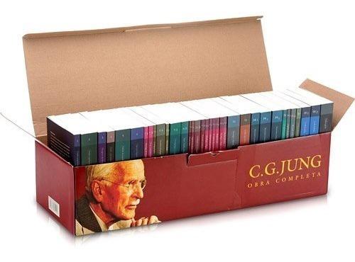 Box Obra Completa C.g Jung 18 Volumes Na Caixa Nota Fiscal