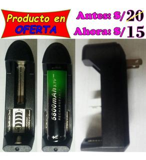 Cargador De Batería 18650, 14500(aa), 16340, 10440 O 26650