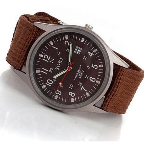 Relógio De Pulso Masculino Soki