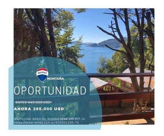 Casa + Complejo Turístico Con Vista Al Lago