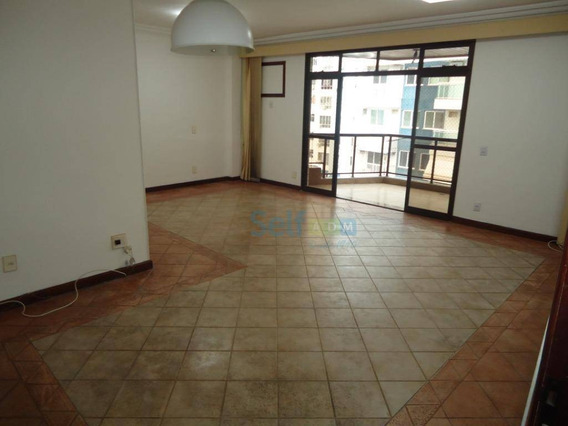Apartamento Com 4 Dormitórios Para Alugar, 200 M² Por R$ 2.500/mês - Vital Brasil - Niterói/rj - Ap0728