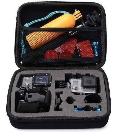 Estojo Bolsa Case Maleta Antichoque Gopro Hero 1 2 3 4 5 6 7