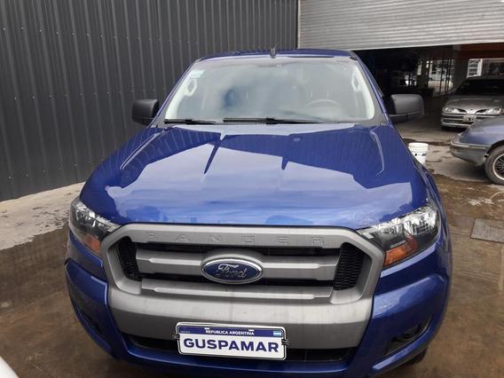 Ford Ranger 2017 Dc 4x2 Dc 4x2 Xls 3.2 Dsl Mt Azul