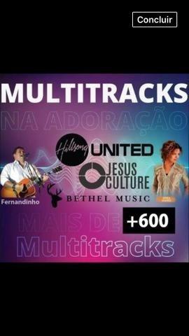 Multitracks Gospel - 200 Multitracks E V.s Abertos