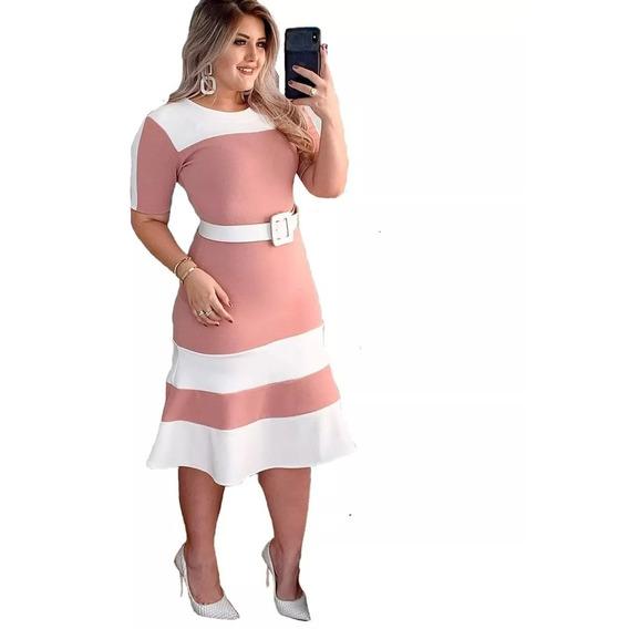 Vestidos Moda Evangelica Social Tubinho Roupas Feminininas