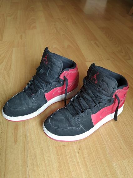 Zapatillas Botitas Nike Air Jordan. Niño. Caballito