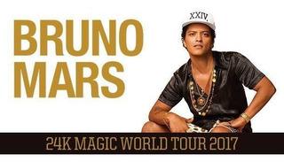 Entradas Bruno Mars Vip
