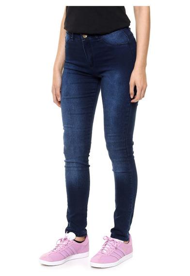 Pantalon Jeans Mujer Elastizado Chupin