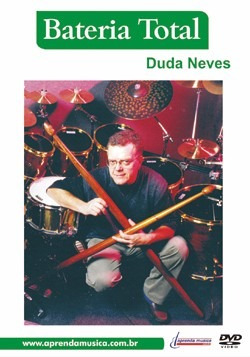 Dvd Video Aula Bateria Total Duda Neves Original