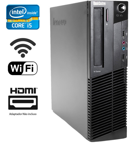 Computador Cpu Desktop Lenovo I5 8gb - Hdmi C/ Displayport