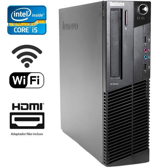 Computador Cpu Desktop Lenovo I5 Ssd 480gb Hdmi Displayport