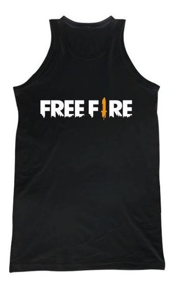 Free Fire Logo Musculosa H