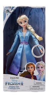 Elsa, Frozen 2, Muñeca Que Canta Elsa, Frozen 2 Disney Store