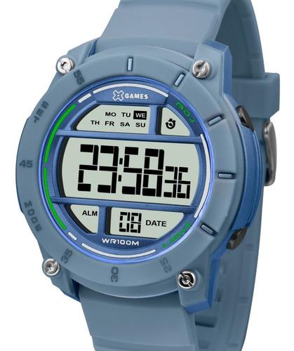 Relógio X-games Masculino Digital Azul -  Xmppd523 Bxdx