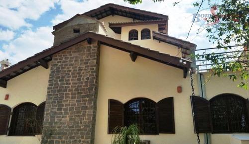 Imagem 1 de 30 de Chácara Com 4 Dormitórios À Venda, 517 M² Por R$ 950.000,00 - Retiro Das Fontes - Atibaia/sp - Ch0012