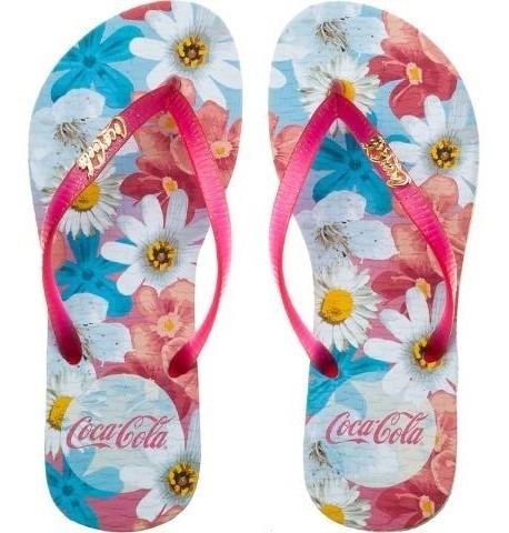 Chinelo Coca Cola Cc2446 Dedo Feminino