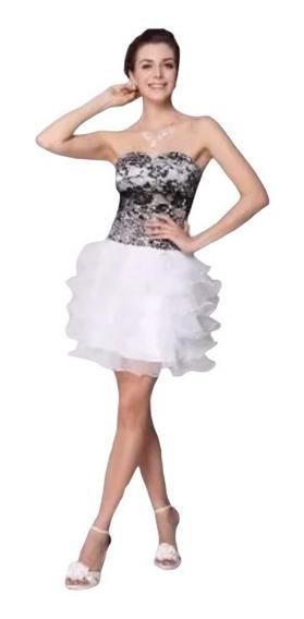 Vestido De Organza 3xl