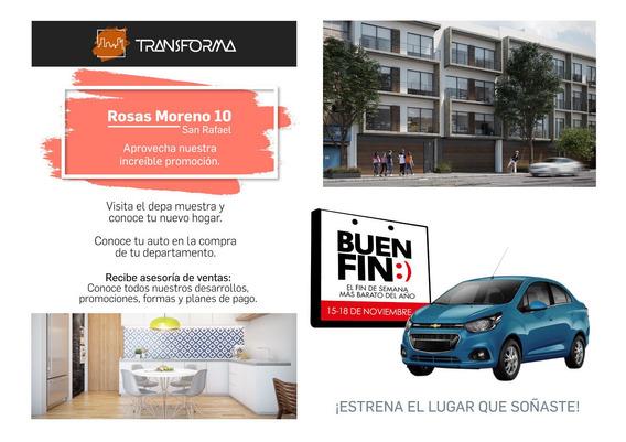 Desarrollo Rosas Moreno 10 - Cerca Colonia Anzures
