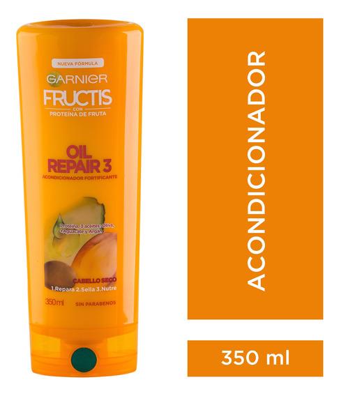 Enjuague Cabellos Secos X350 Oil Repair 3 Fructis Garnier