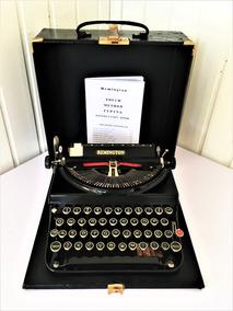 Maquina Escrever Datilografia Remington Rand Model 5 T 1938