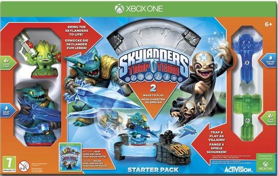 Pacote Inicial Skylanders Trap Team Starter Pack De Xbox One