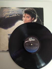Disco De Vinil: Michael Jackson Thriller