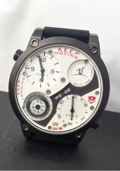 Relógio Masculino Esportivo Preto