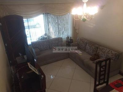 Sobrado Com 3 Dormitórios À Venda, 136 M² Por R$ 550.000 - Vila Caminho Do Mar - São Bernardo Do Campo/sp - So0348