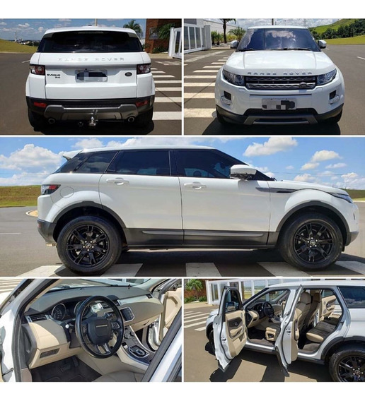 Land Rover Evoque 2013 2.0 Si4 Pure 5p