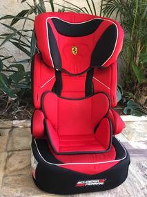 Cadeira Infantil Para Veículo - Modelo Ferrari De 15 A 36kg.