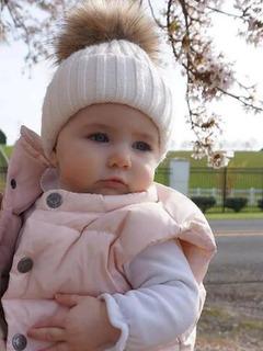 Gorritos Para Bebé Con Pompón Calientitos Varios Colores