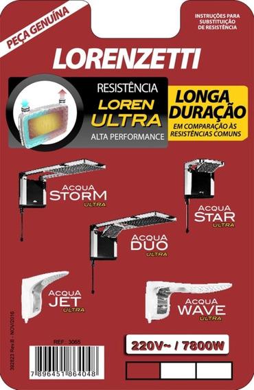 Resistencia Lorenzetti Loren Ultra Acqua Storm Star Wave Jet Original