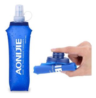 2 Garrafa Hidratação 500ml Soft Flask Squeeze Água Corrida