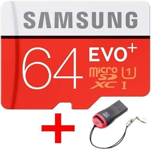 Cartão Samsung Micro Sdxc Evo Plus+ 64gb 95mb/s Uhs-1 Sd