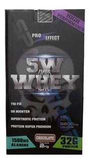 Whey Protein 5w Dark Insane 2kg Pró Effect Full