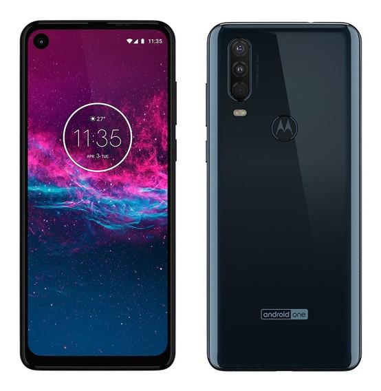 Celular Libre Motorola Moto One Action 4gb 128gb Cuotas!