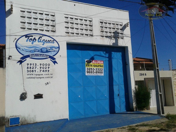 Galpão Para Alugar, 234 M² Por R$ 4.000,00/mês - Prefeito José Walter - Fortaleza/ce - Ga0004