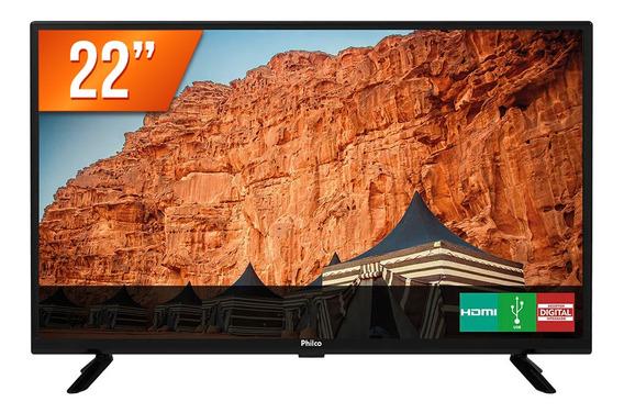 Tv Monitor Led 22 Full Hd Philco Ptv22g50d 2 Hdmi 1 Usb