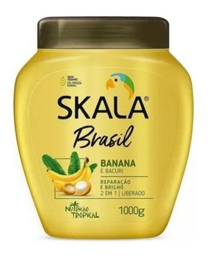 Crema Skala Banana Y Bacurí X 1 Kg. 2 En 1 Perfumeria Ricky