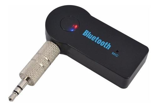 Adaptador Receptor Bluetooth A 3.5 Plug Aux Auto Parlante B
