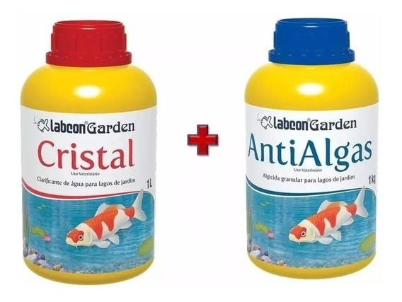 Alcon Garden Cristal Lagos 1 Litro + Garden Anti Algas 1 Kg