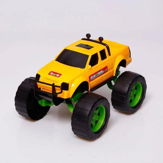 Carrinho Infantil 4x4 Rattam 30cm Amarelo Usual Plastic